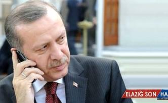 Cumhurbaşkanı Erdoğan, Ceren Özdemir'in Anne Ve Babasını Aradı