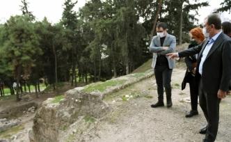 Yumuktepe'de çevre düzenleme ve arkeopark projesi hazırlanıyor