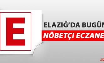 Elazığ'da 4 Ağustos'ta Nöbetçi Eczaneler