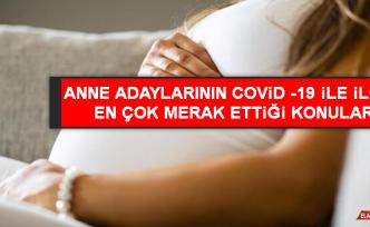 Anne Adaylarının Covid -19 İle İlgili En Çok Merak Ettiği Konular