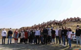 (Özel) Altıntepe Kalesi turizme açılmak için gün sayıyor