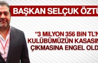 """""""3 Milyon 356 Bin TL'nin Kulübümüzün Kasasından Çıkmasına Engel Olduk"""""""