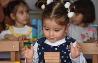 Bartın'da köy çocukları için oyuncak kütüphanesi kuruldu