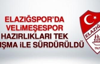 B.Elazığspor'da E.Velimeşespor Hazırlıkları Tek Çalışma İle Sürdürüldü