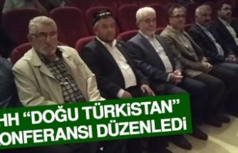 """İHH """"Doğu Türkistan"""" Konferansı Düzenledi"""