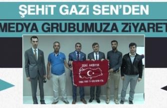 Şehit Gazi Sen'den Medya Grubumuza Ziyaret