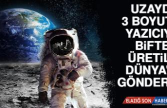 Uzayda, 3 Boyutlu Yazıcıyla Biftek Üretilip Dünya'ya Gönderildi! İnsanlık İçin Umut Olacak