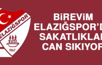 Birevim Elazığspor'da Sakatlıklar Can Sıkıyor