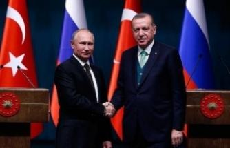 Cumhurbaşkanı Erdoğan ile Putin Soçi'yi görüştü