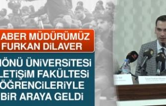 Furkan Dilaver, İnönü Üniversitesi Öğrencileriyle Bir Araya Geldi