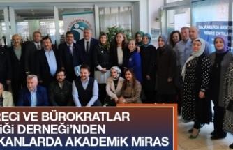 İdareci ve Bürokratlar Birliği Derneği Balkanlarda Akademik Miras