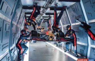 Red Bull takımından yer çekimsiz ortamda