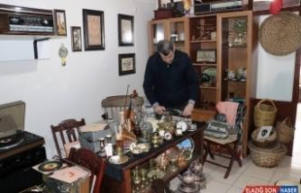 Bir anahtar ile başladı, şimdi antika dükkanı açtı