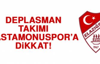 Deplasman takımı Kastamonuspor'a dikkat!