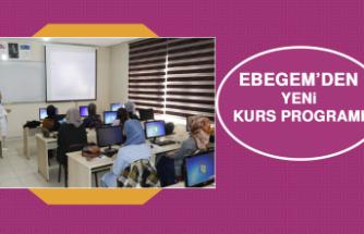 EBEGEM'den Yeni Kurs Programı