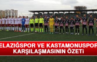 Elazığspor – Kastamonuspor Karşılaşmasının Özeti