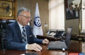 Erzincan Binali Yıldırım Üniversitesi Rektörü Levent, AA'nın