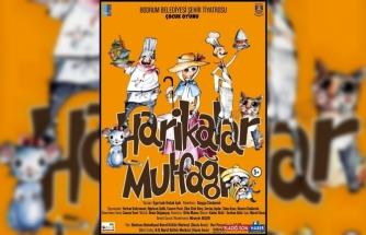 'Harikalar Mutfağı' oyunu 8 Aralık'ta çocukları bekliyor