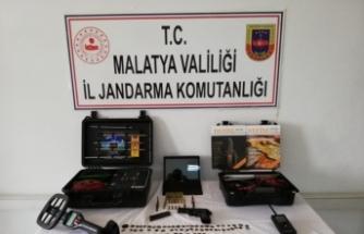 Malatya'da tarihi eser kaçakçılığı operasyonunda bir şüpheli yakalandı