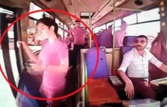 Otobüsten düşen kadının ölümünde araç sürücüsü tam kusurlu bulundu