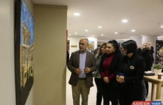 """""""Renkler ve Desenlerle Türkiye'den Yansımalar"""" sergisi Kartallı sanatseverler ile buluştu"""