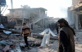 Rusya Ve Esed Rejiminin İdlib'e Hava Saldırılarında 20 Sivil Öl