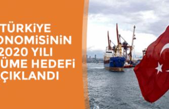 Türkiye Ekonomisinin 2020 Yılı Büyüme Hedefi Açıklandı