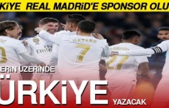 Türkiye Real Madrid'e Sponsor Olacak