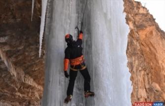 6. Uluslararası Emrah Özbay Buz Tırmanış Festivali, Erzurum'da devam ediyor