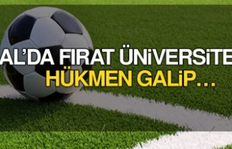 Bal'da Fırat Üniversitesi Hükmen Galip…