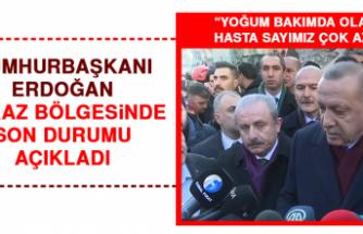 Cumhurbaşkanı Erdoğan Enkaz Bölgesinde Son Durumu Açıkladı