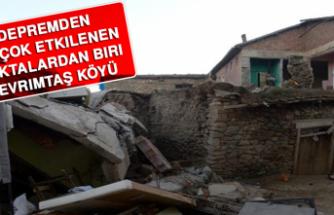 Depremden En Çok Etkilenen Noktalardan Biri Çevrimtaş Köyü