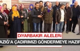 Diyarbakır Ailelerinden Elazığ'a Yardım Çağrısı