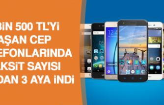 Erdoğan İmzaladı, Fiyatı 3 Bin 500 Tl'yi Aşan Cep Telefonlarında Taksit Sayısı 6 Aydan 3 Aya İndi