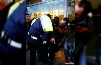 Erzincan'da kuyumcuyu soymaya çalışan kişi yakalandı