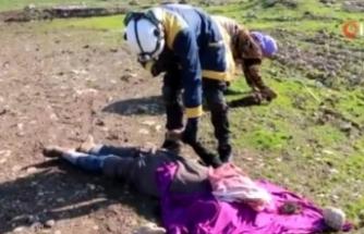 Halep'te Oğlunun Cansız Bedeninin Parçalarını Toplayan Anne Yürek Burktu