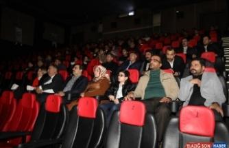 Haliliye'den gazetecilere sinema etkinliği