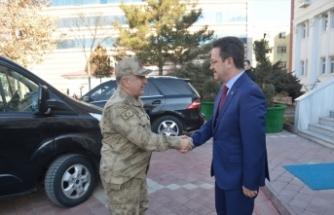 Jandarma Denetleme ve Değerlendirme Başkanı Tümgeneral Koç, Iğdır'da