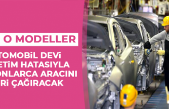 Otomobil Devi, Üretim Hatasıyla Milyonlarca Aracını Geri Çağıracak