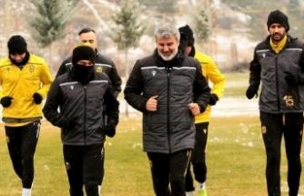 Yeni Malatyaspor, Medipol Başakşehir maçı hazırlıklarını tamamladı