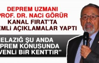 Deprem Uzmanı Prof. Dr. Naci Görür'den Önemli Açıklamalar!