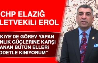 Erol: Türkiye Büyük Bir Üzüntüyle Karşı Karşıya Kaldı