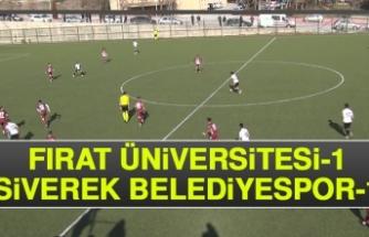 Fırat Üniversitesi 1-1 Siverek Belediyespor