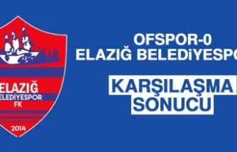 Ofspor 0-0 Elazığ Belediyespor