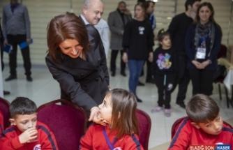 Sırkeçili Yörük çocukları kent yaşamının renkli dünyası ile buluştu