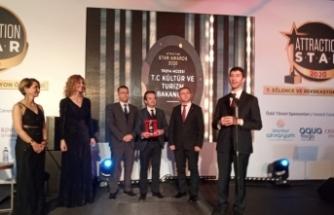 """Troya Müzesi, """"En Başarılı Müze"""" seçildi"""