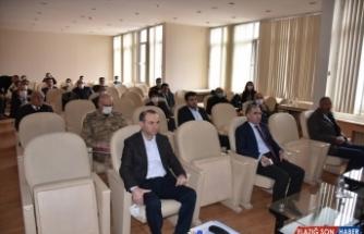 Kars Valisi Öksüz'den Pandemi Koordinasyon Kurulu Toplantısı'nda