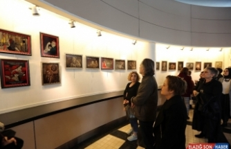 Yenimahalle'den 8 Mart'a özel sergi açılışı