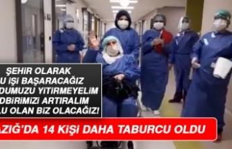 Elazığ'da 14 Koronavirüs Hastası Taburcu Edildi