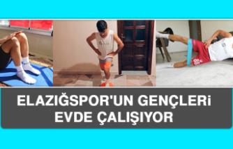 Elazığspor'un Gençleri Evde Çalışıyor